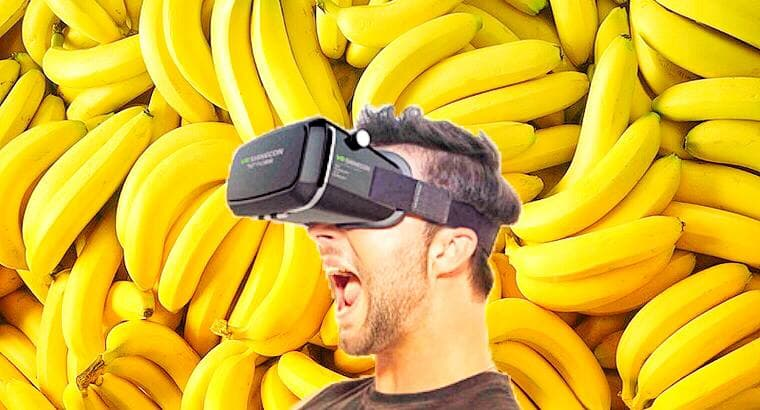 banana sony gamepad